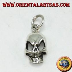 Подвеска из серебра 925 с черепом, с большими глазами