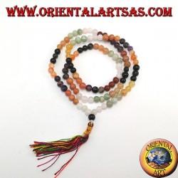 Тибетская мала 108 +1 шарик из семи чакр