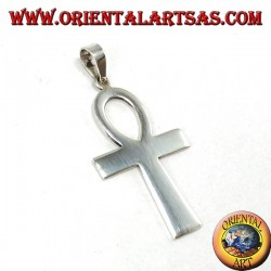 Silver pendant Egyptian cross ankh (key of life)