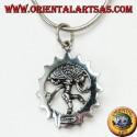 Ciondolo in argento, Shiva nataraja danza cosmica