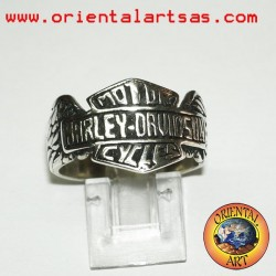 Harley Davidson Ring in solid silver 925/000