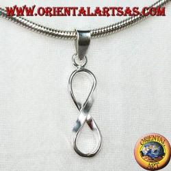 Ciondolo d'argento, simbolo dell'infinito