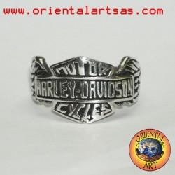 anello Harley Davidsonin argento