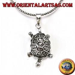 Ciondolo in argento  tartaruga di terra