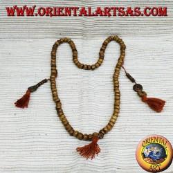 Mala Buddhist Rosary for Mediation 108 Grains in polished yak bone.