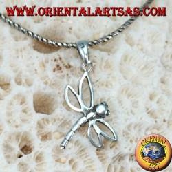 Libelle Silber Anhänger