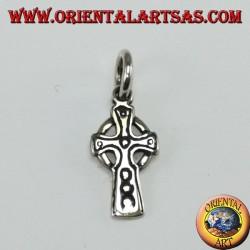 Pendentif en argent Croix celtique, petit