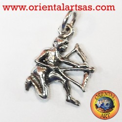 Pendant in silver zodiac sign Sagittarius