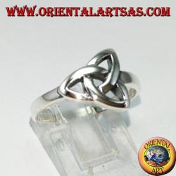 Silver ring knots of Tyrone (Celtic knot) simple