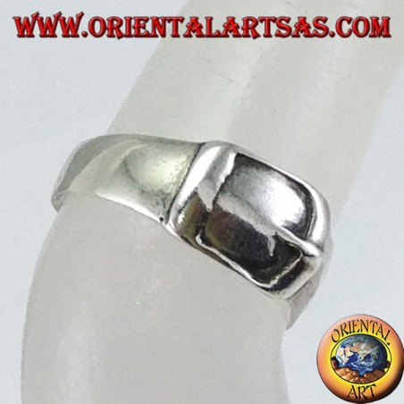 Silver ring for toes or phalanx, belt with buckle