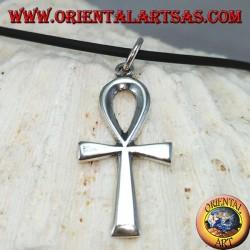 Colgante en plata 925 cruz egipcia Ankh medio