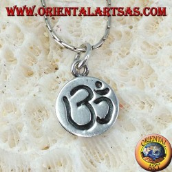 Sterling Silver Sac Syllable Pendant engraved on medal