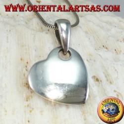 Ciondolo in argento a forma di cuore
