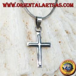 Серебряный кулон Христианский крест (маленький)