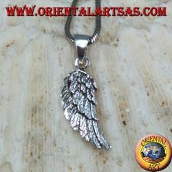 Ciondolo in argento Ala D'angelo
