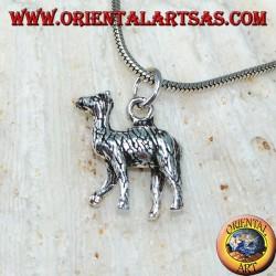 Silver pendant Llama