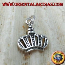 Silver pendant, the crown
