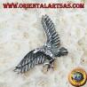Ciondolo in argento , Aquila reale