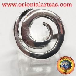 Spiralring in Silber 925/000