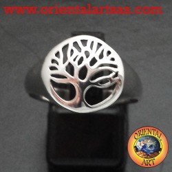 Silver Ring, Tree of Life