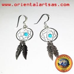 orecchihi acchiapasogni medio in argento