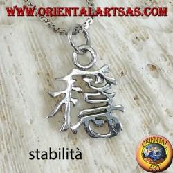 Ciondolo in argento, Stabilità ideogramma cinese