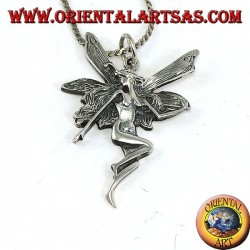 Fairy pendant in 925 silver