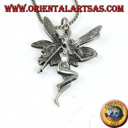Feenanhänger in 925 Silber