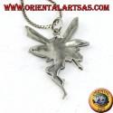 Fairy pendant in 925 silver