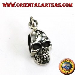 Silver pendant, Skull the pierced temples