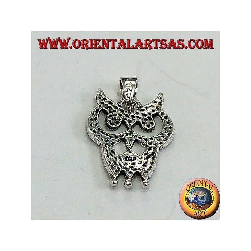 dc03f140ac Ciondolo in argento 925 ‰ gufo puntinato | eBay