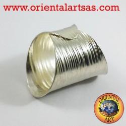 fascia in argento