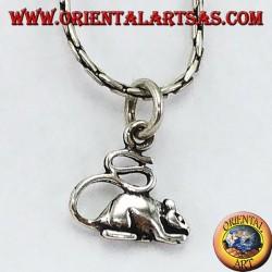 Colgante de plata (roedor) del ratón