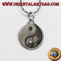 Tao Yin-Yang Silber Anhänger