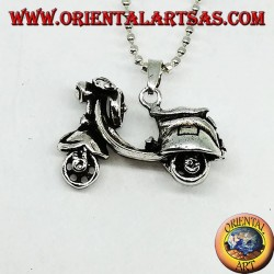 Silver pendant the legendary Vespa (mobile)