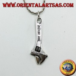 Sterling Silver tridimensionnelle Apache style hélicoptère Charm//Pendentif