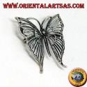 Spilla in argento con marcasite a forma di farfalla