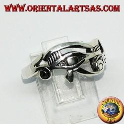 Anello in argento Occhio di Horo (occhio di Horus e Ra )