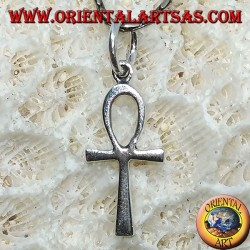 Silver pendant, key ankh of life (small)