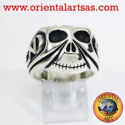 Silver Ring Skull Johnny Depp