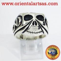 Серебряное кольцо Череп Джонни Депп