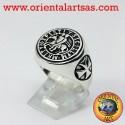 Anello in argento dei cavalieri templari