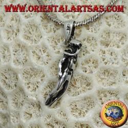 Ciondolo in argento del Subacqueo