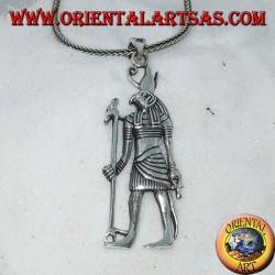 Silver pendant of the god Horus