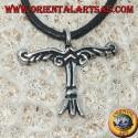 Ciondolo in argento, Irminsul è un simbolo del cielo, terra e Inferi