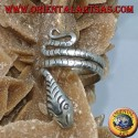 Ear Cuff in argento serpente