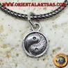 Ciondolo yin yang Tao in argento
