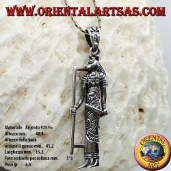 Pendentif en argent de la déesse Tefnut
