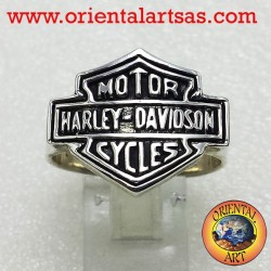 Anello d'argento Harley Davidson