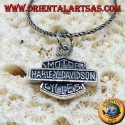 Silver pendant, Harley Davidson medium shield